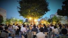 【立川】オトナリatたちかわ13 宮内優里ライブ&ビール&芝生でナイトピクニック