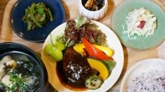 「野菜食堂」のランチ