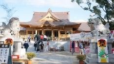 新しくなった富知六所浅間神社で初詣