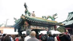 今年の毘沙門天大祭は16日まで