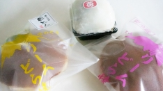和洋菓子はせがわの生クリームどら焼き(いちご)