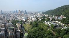 北野全景 〜ANAクラウンホテル神戸から
