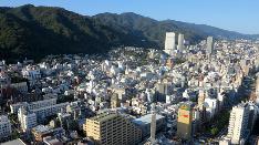 北野全景 〜トア山手ザ・神戸タワーから