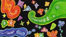 いのうえまこと絵画展「海と星の音楽」@ギャラリーゆりの木