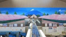 鳩の湯 銭湯絵師 丸山清人ライブペインティング@国立ポッポ祭