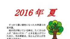 【8/21】くにたち桜守 8月の桜守活動のお知らせ