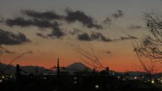 富士山を拝める開運スポット@谷保天満宮