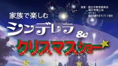 【12/25】家族で楽しむシンデレラ&クリスマスショー カジキタドリーム