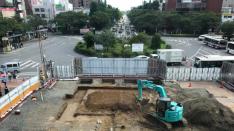 旧国立駅舎再築工事 現場実況中継(1)