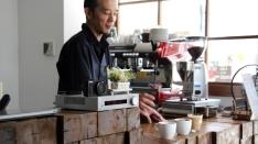 カフェでコーヒー教室♪